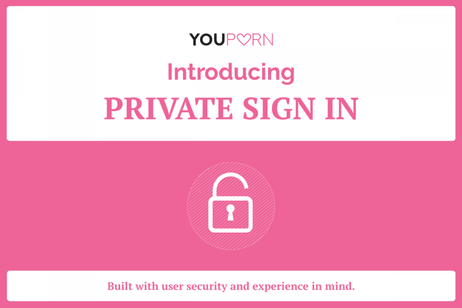 Private Sign In on YouPorn